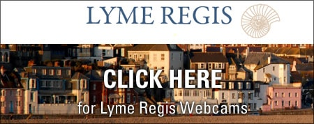 CLICK HERE for Lyme Regis Webcams