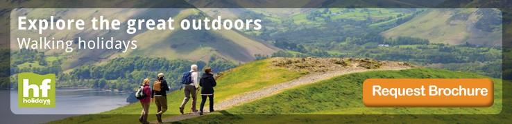HF Holidays Walking & Outdoor Holidays  Brochure